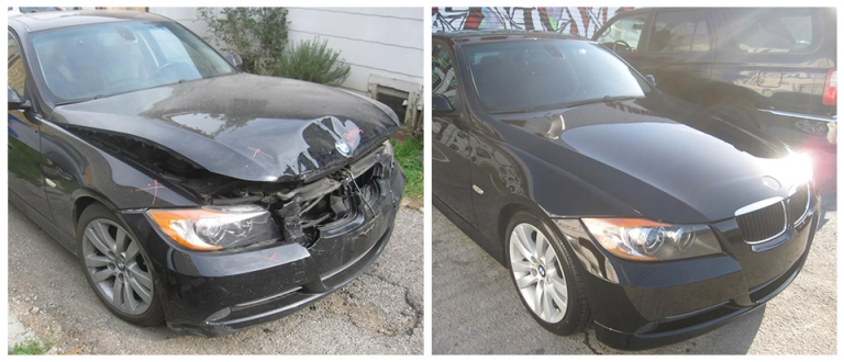 our work, Auto Restoration Los Angeles