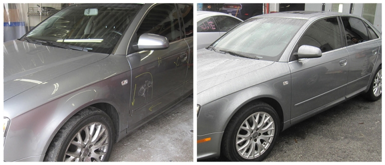 our work, Silver Lake Auto Detail