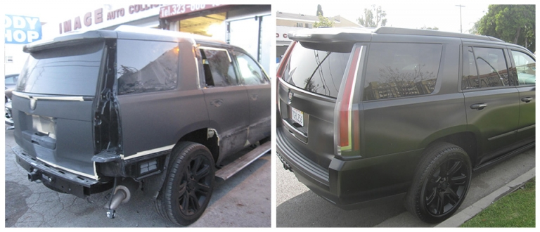 Our work, dent removal and repair