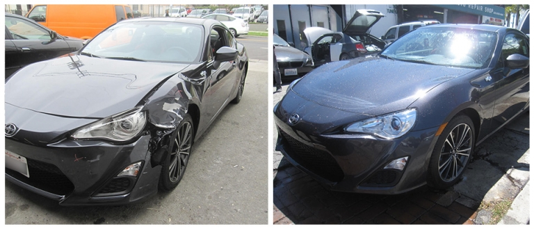 Our Work, Auto Body Repair in Los Angeles