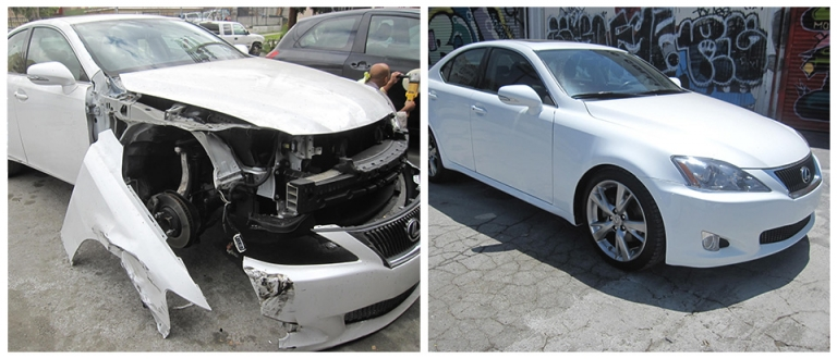 Our Work, Auto Collision Repair Los Angeles,