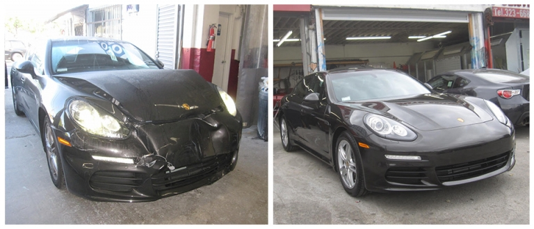 our work, Auto Body Shops & Collision Center