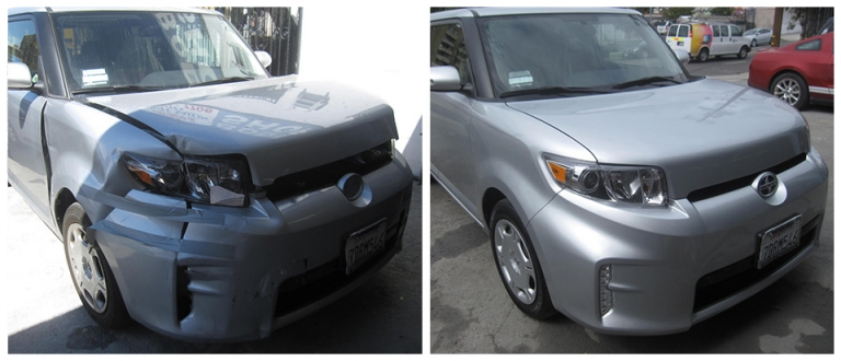 Our Work, Collision Repair Los Angeles